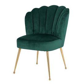 Stoel Pippa groen velvet