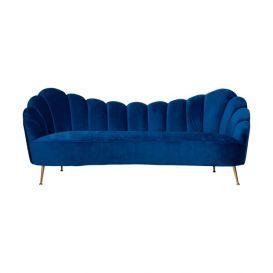 Bank Cosette 3-zits blauw velvet