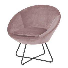 Scandic House fauteuil Christie roze velvet