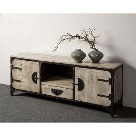 Tv-meubel Basto 2-deurs grijs