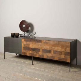 Tv-meubel Pandora 1 deur 2 laden 166cm