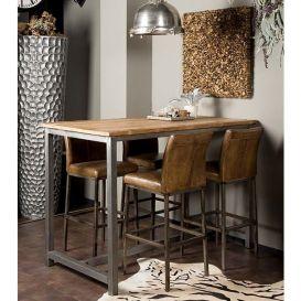 Bartafel Venetie 160x90x110cm hout