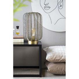 Tafellamp Carbo brons