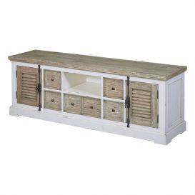 TV meubel amanda 2 deurs 3 lades