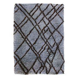 Vloerkleed Berber rug grijs/blauw 180x280cm