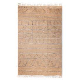 Vloerkleed hand geweven indoor/outdoor naturel 150x240cm