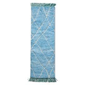 Kleed Runner Blue/Turquoise 80x250cm