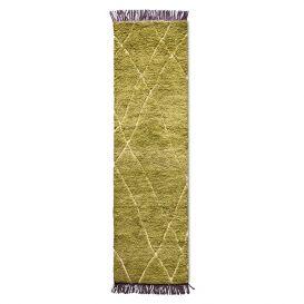 Kleed Runner Olive/Purple 80x300cm