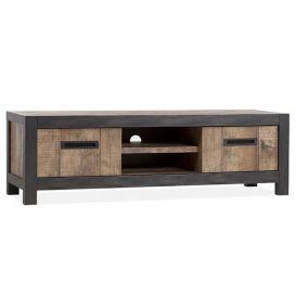 Tv-meubel Corvina 2-deurs 2 open vakken