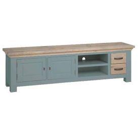 Tv-meubel Parma grijs 2 deurs 2 laden