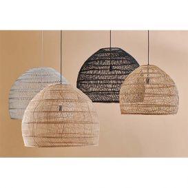 Hanglamp riet naturel 80cm