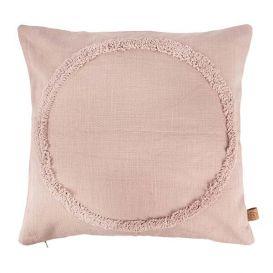Kussen Cirkel roze 45x45cm